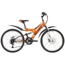 """24"""" Велосипед FOXX FREELANDER, сталь,14 (оранжевый)"""