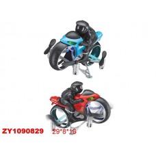 Аэромотоцикл р/у BR19, со светом, мультипульт, аккумулятор, USB-зарядка