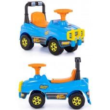 Автомобиль Джип-каталка - №2 (голубой)