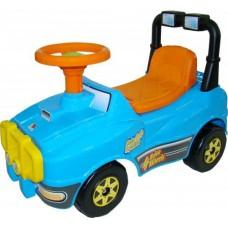 Автомобиль Джип-каталка - №3 (голубой)