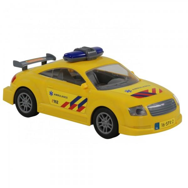 Автомобиль скорая помощь инерционный (NL) (в пакете) (14 шт)
