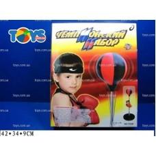 Боксерский набор (перчатки+груша на подставке)