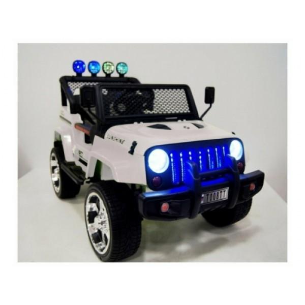 Детский электромобиль Jeep 4*4 T008TT (белый)