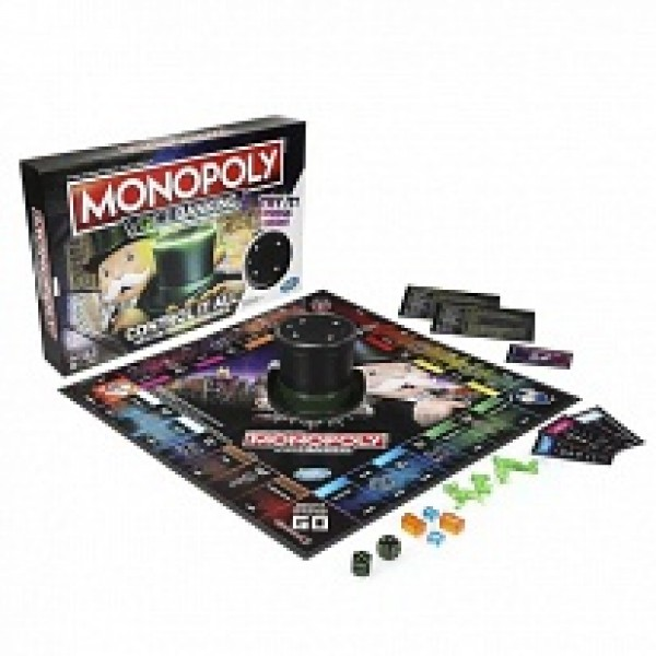 *Игра настольная HASBRO GAMES Монополия голосовое управление
