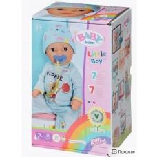 *Игрушка My Little BABY born Нежное прикосновение Мальчик ,36см