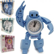 """Игрушка """"Робот"""", трансформируется в часы, на батарейках, 200503043"""