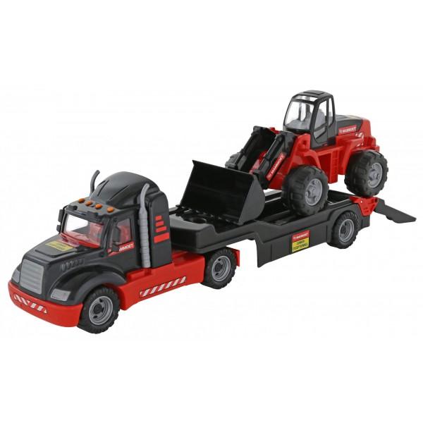 """""""MAMMOET"""", автомобиль-трейлер + трактор-погрузчик (1шт)"""