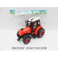 Машина инерц. трактор 3 цвета 658
