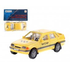 """Машинка инерц. """"Такси""""АВТОRus"""" размер машинки: 10,8*4,6*3 см. в/п 12*12*4 см."""