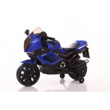 Мотоцикл на аккум. 6v7ah*1,свет, индикатор заряда батареи,МР3 плейер, 95*47*63см, макс.25кг, синий