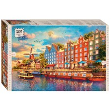 """Мозаика """"puzzle"""" 1000 """"Амстердам"""" (Romantic Travel)"""