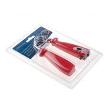 Тренажер кистевой пластиковый со счетчиком на блистере 21*14*3 см