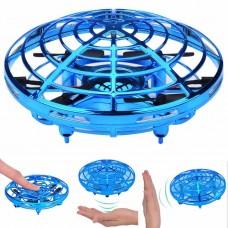 Вертолет сфера летающая со светом с аккум. управление ладонью 2 цвета