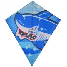Возд. змей Акула, 60Х70см в сумке
